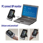 Free shipping PC connect Digital Blood Pressure monitors display LCD with backlight