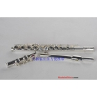 free shipping,16-hole nickel-plated key flute C tune plus E