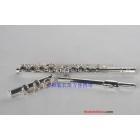 free shipping,16-hole nickel-plated key flute C tune plus E