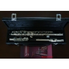 E 16-hole nickel-plated key flute obturator can be returned instruments donated 211 CD-type gloves, genuine leather case