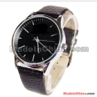 Volunteer peng of man quartz watch 2331 strap black dial black