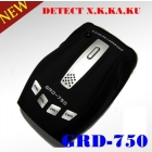 HOT  Detector GRD-750 High Sensitivity  Detectors X,K,KU,Ka,Wide Ka, laser 12 Band 360 Protection Free Shipping