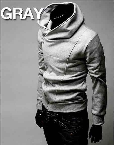 Men S Fashionable Zippered Hoodies