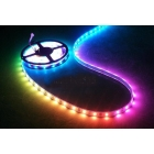 Reliabletrust:DHL Free 10M 2roll  color RGB Program IC LED Strip With 94functions controller+Free LED Adapter  12V 6A Top quality