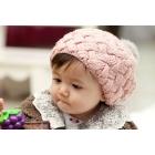 Baby hat cap Rabbit ball beret cap pineapple ice cream hat wool children hat