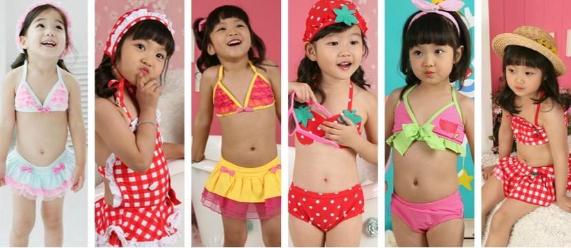 Kids In Bathing Suits Children girl s kids swimwear