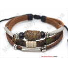 Hot 100% real leather! genuine leather bracelet,Cowhide Bracelet, handmade bracelet, Cowhide leather bracelet handmade ,L0007