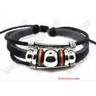 leather cord bracelet! handmade bracelet Leather Bracelets Wristbands,Leather Charm Bracelets leather bracelet L0053