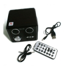 High quality  mini computer speaker, audio speaker / U disk / SD cmobile phone speaker,multimedia speakers  MP3 speaker box Christmas Gifts Free shipping