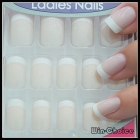 Wholesale 10sets/lot Fashion style Pre-design Nail Tips Acrylic with various designs False Nails for Nail Art Free Shipping