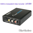 Hot Sales New HDMI to Composite/S-Video Converter for HD DVD to TV connection HDMI/AV Convertor Free Shipping