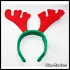 Free shipping Lovely Christmas Antler ornament, Antler Head band, Xmas Gifts Wholesale 24pcs/lot