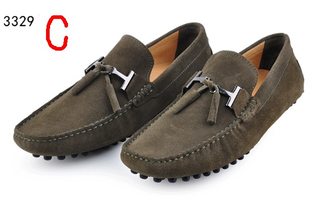 Mens Shoe Slippers Men's Suede Leather Shoes