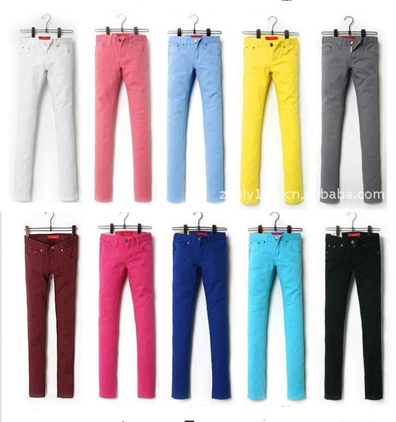 Colored Mens Pants