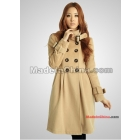 Free shipping 2011 new women's long LiLing han cultivate one's morality temperament double platoon to buckle warm coat coat   Outerwear