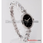 Free shipping female table color girl rose and crown glass table elliptic recreational watch 2506