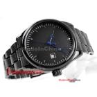Free shipping dynamic whole black man automatic mechanical watch business calendar watch elegant lady