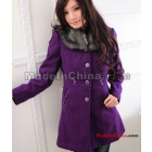 Women's 2011 new winter coat dust coat from the waist cultivate one's morality? Han edition wool coat free shipping