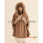 Free shipping 2011 new qiu dong outfit coat women's clothing han edition collars cloak South Korea cashmere overcoat woollen female shawls