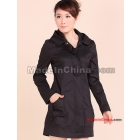Free shipping 2011 new autumn outfit new han edition in spring and autumn winter leisure female dust coat cultivate one's morality coat coat
