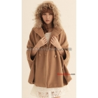 new qiu dong outfit coat collars han edition dress from cashmere coat cloak South Korea female shawls