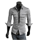 Men's Shirts Mens Casual Shirts Mens Dress Shirts Slim Fit Stylish Shirts 3 Colours