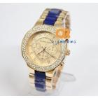 2013 New Arrival   Watch Rose Gold For  Women Black Men Fashion Diamond Wristwatch Janpan Quartz 4Colors