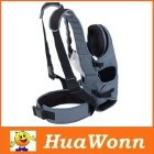 Dropshipping Infant  Carrier Soft Backpack Wrap Harness Grey