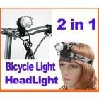 Dropshipping CREE XML XM-L  LED Bike Bicycle Light HeadLight HeadLamp 1200LM 9W freeshipping
