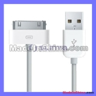 Freeshipping White 1M Long Extension USB Sync Cable USB data cable For Pad Phone  /
