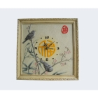 Flowers and birds rural wall clock contracted fashion clock sitting room wall clock