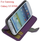 S3 I9300 Wallet case, For Sam sung  S3 I9300 case cover, I9300 cover skin protector, OPP bag packing, free shipping