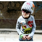 Children's fashion leisure long-sleeved T-shirt