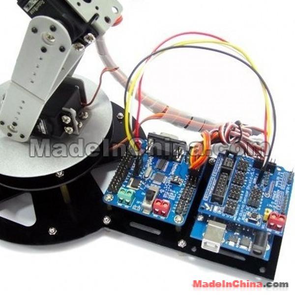 Robot ARM 2 หุ่นยนต์ แขนกล 7 servo - DuinoThumb
