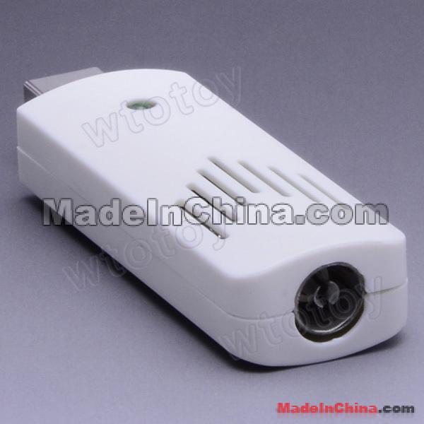 USB 2 0 Worldwide Analog TV Stick Tuner Receiver ...