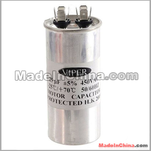 25uf 450v Motor Capacitor For Air Engine Condition