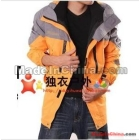 Outdoor clothing twinset fleeces bladder charge clothing male waterproof coat to keep warm