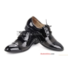 Man business suit system with British shoes men's shoes pointed leather shoes work shoes