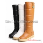 Female boots high heel boots increased in boots tall canister boots space boot