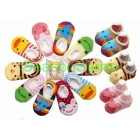 [CPA Free Shipping] Wholesale Busha Anti-skid  Socks Infant Socks / Cotton Sock Booties 40pairs/lot (SY-19)