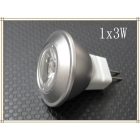 50x Free Shipping, 1x3W Epistar, MR11 GU5.3,  Warm White or Cool White , LEDs LED Spotlight, AC/DC12V, CE&Rohs