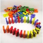 The panda wooden dominoes children's educational literacy blocks  toys