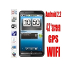 DUAL SIM Android 2.2 WI-FI GPS 4.3'' TV FM SMART A2000  FREE SHIPPING