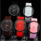 Popular No Second Hand Style Unisex 5 Colorful Quartz Wrist Watch