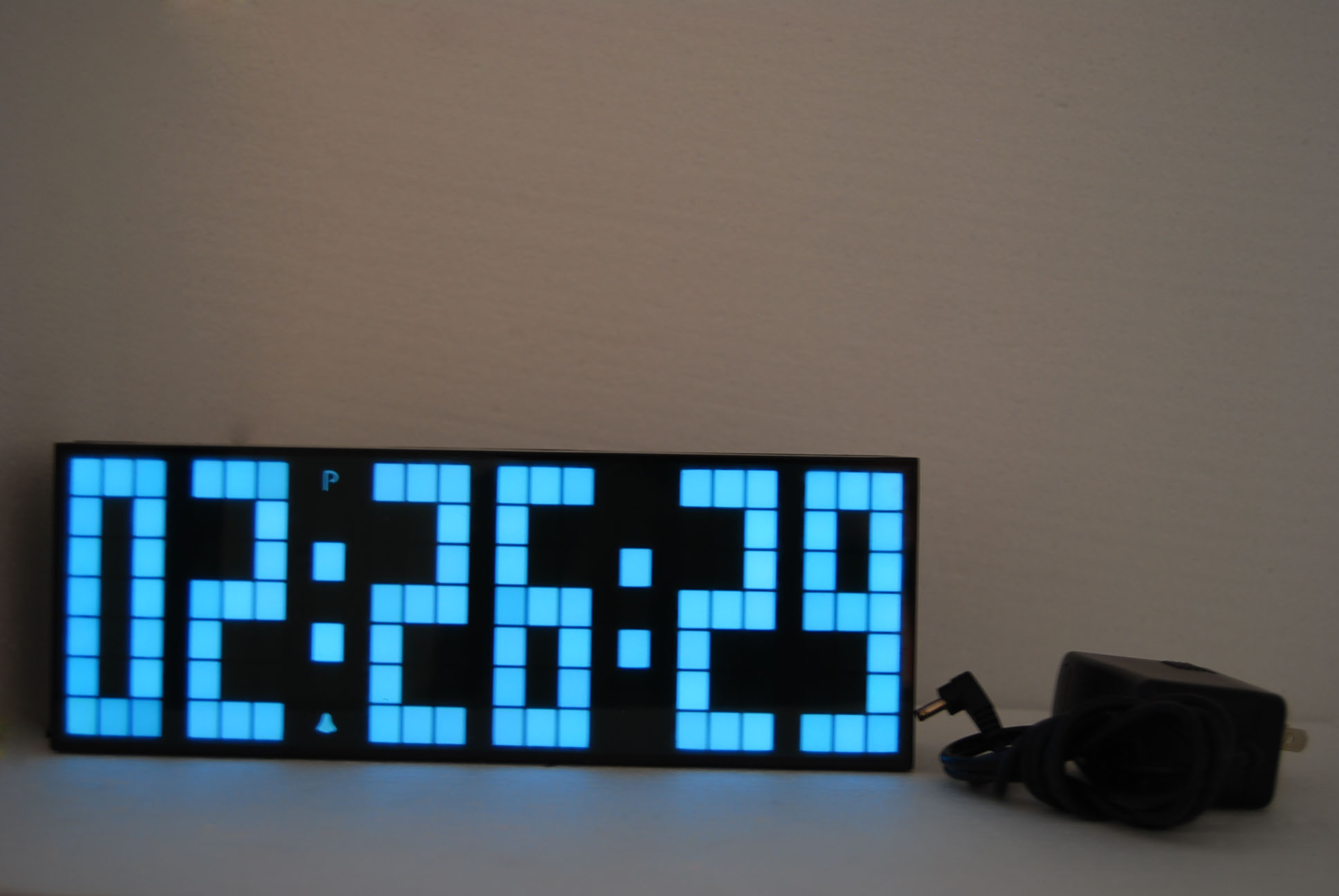 Led Digital Clock White Soonze Clock 3286a Bu Wholesale