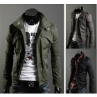 High Collar Jackets Mens Coats Men's Trench Coats Mens Winter Jackets