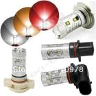 Free Shipping High Power 50W LED Light Bulbs H4/H7/H8/H11/H16/P13W/9005/9006 Car Led Fog bulbs
