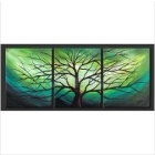Modern Abstract Oil Painting On Canvas:Tree Art Guaranteed 100% Free shipping