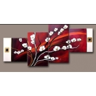 2011 Wholesale-- ABSTRACT HUGE WALL DECOR ART FLOWERS OIL PAINTING)-