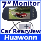 "7"" TFT LCD Color Screen Car Monitor rearview camera VCR,free shipping,dropshipping"